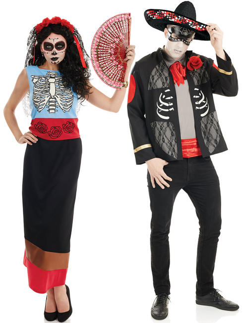 Adults Day of the Dead Costume