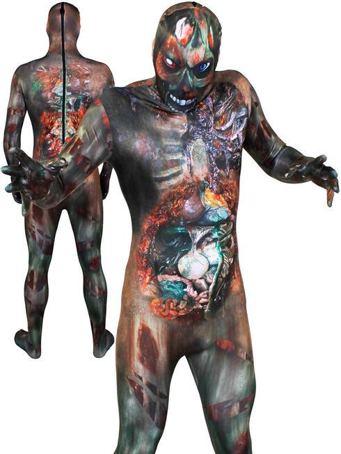 Men's Zombie Skin Suit