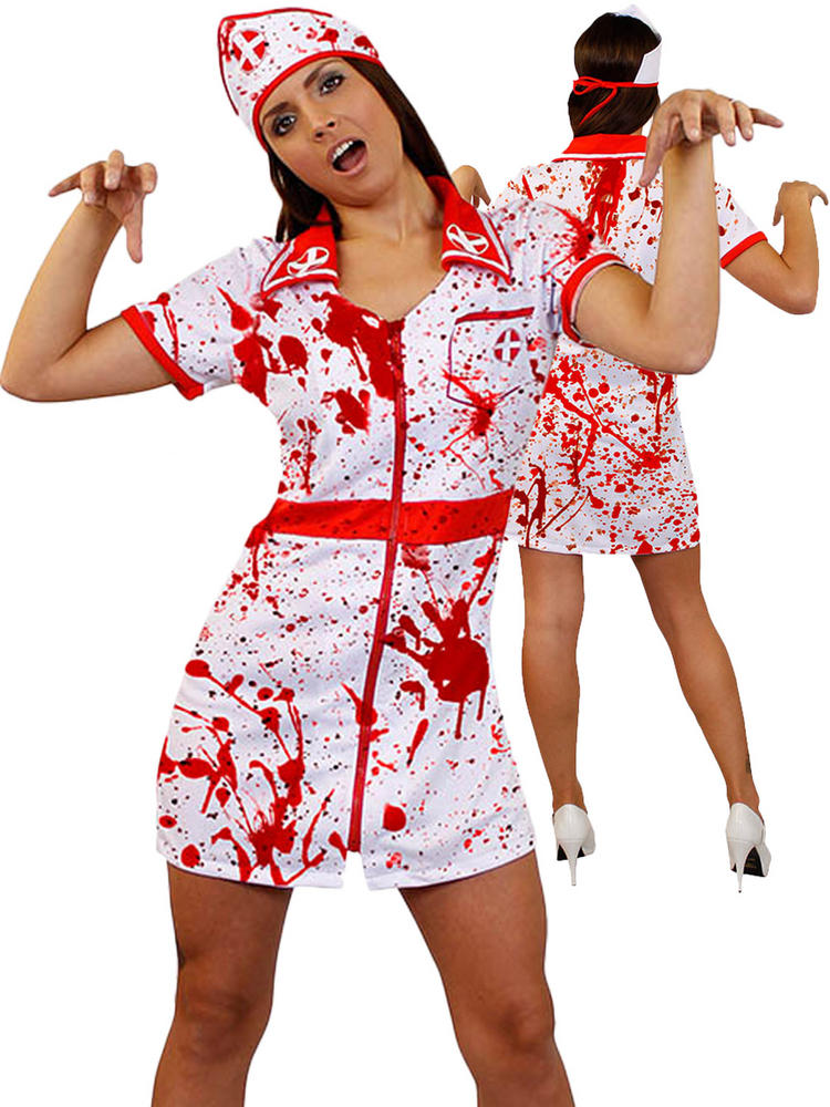 Ladies Bloody Nurse Costume