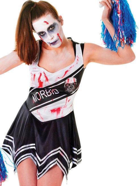 Ladies Zombie Cheerleader Costume