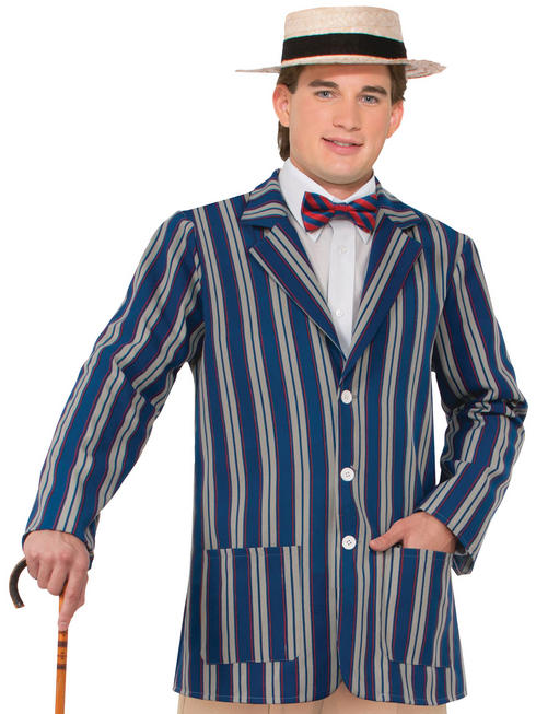 Men's Boater Striped Jacket