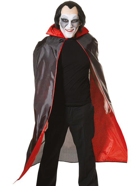 Adult's Red Lined Dracula Cape