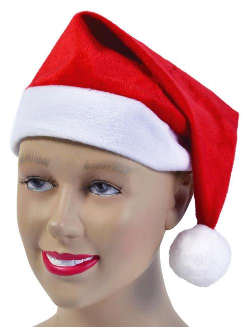 Velour Santa Hat
