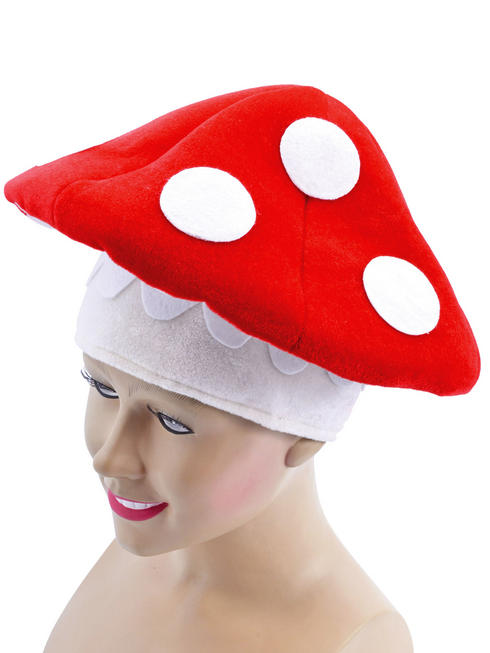 Adult's Toadstool Hat
