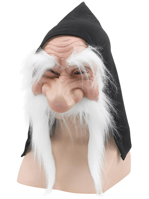 Adult's Gnome with Hood & White Beard