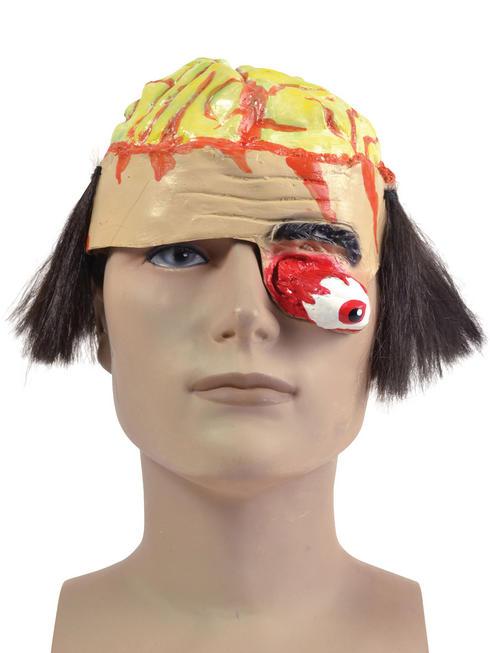 Adult's Brain Headpiece with Gory Eye