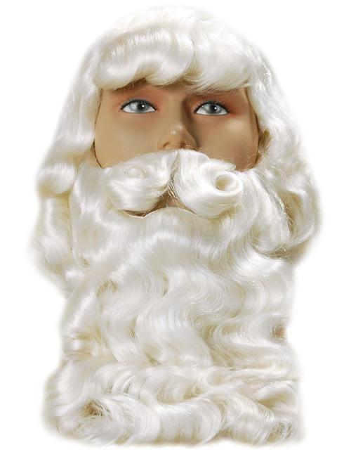 Superior Father Xmas Wig & Beard