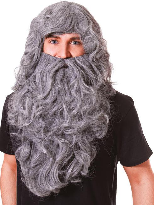 Adult's Wizard Wig & Beard