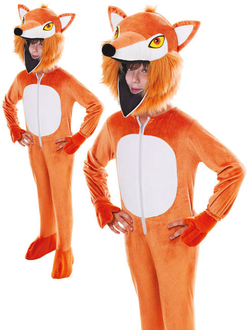 Child's Fox Big Head Costume
