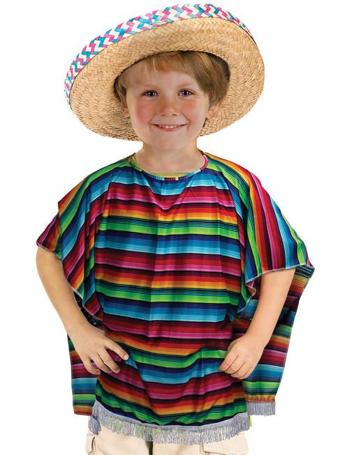 Child's Mexican Poncho