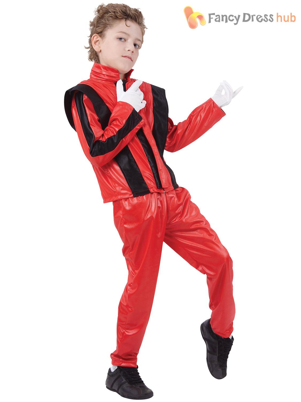 jackson thriller costume Boys jacket michael