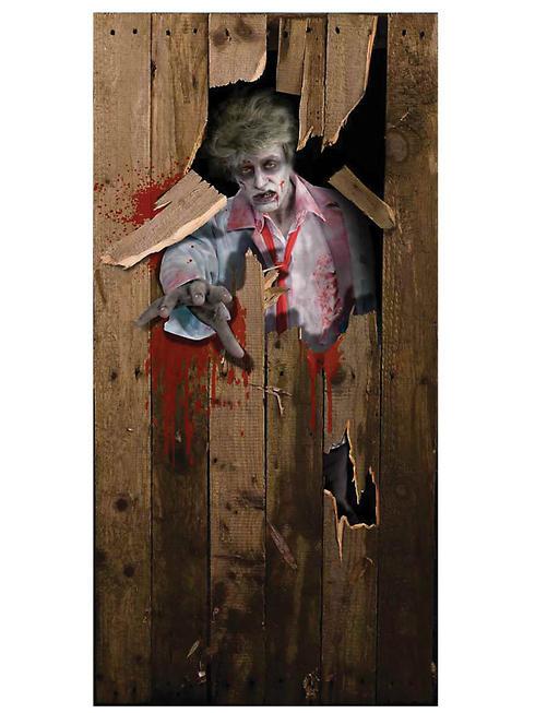 Zombie Door Poster