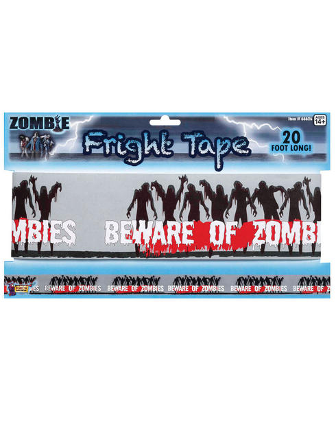 Halloween Zombie Fright Tape