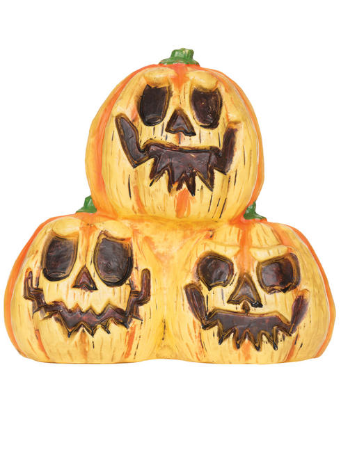 Light Up Trio Pumpkin Prop with Sound