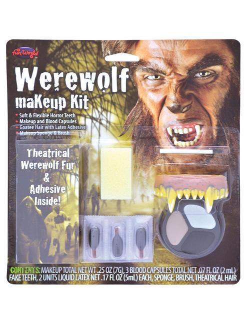Halloween Werewolf Make-Up Kit