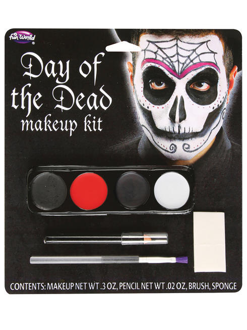 Men's Day Of The Dead Make Up Kit