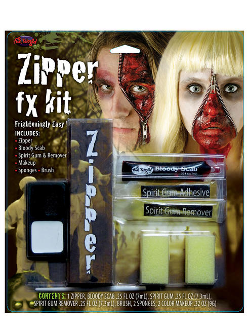 Halloween Zipper FX Make-Up Kit