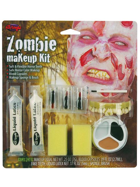 Halloween Zombie Male Make-Up Kit