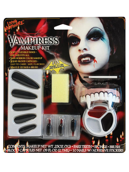 Halloween Vampiress Make-Up Kit