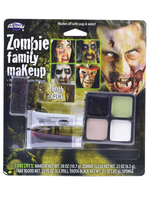 Halloween Zombie Make-Up Kit