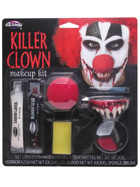 Halloween Killer Clown Make-Up Kit