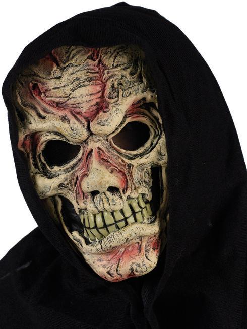 Adults Flesh Zombie Hooded Mask