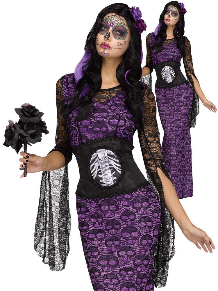 Ladies La Muerte Costume