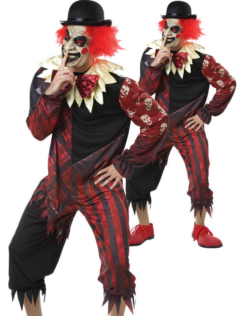 Men's Creepo The Clown Costume