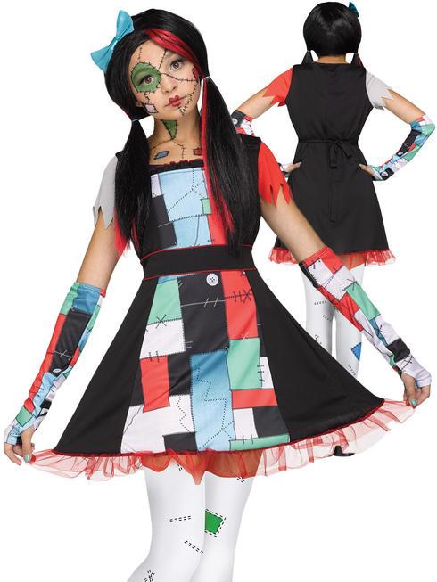 Girl's Rag Doll Costume