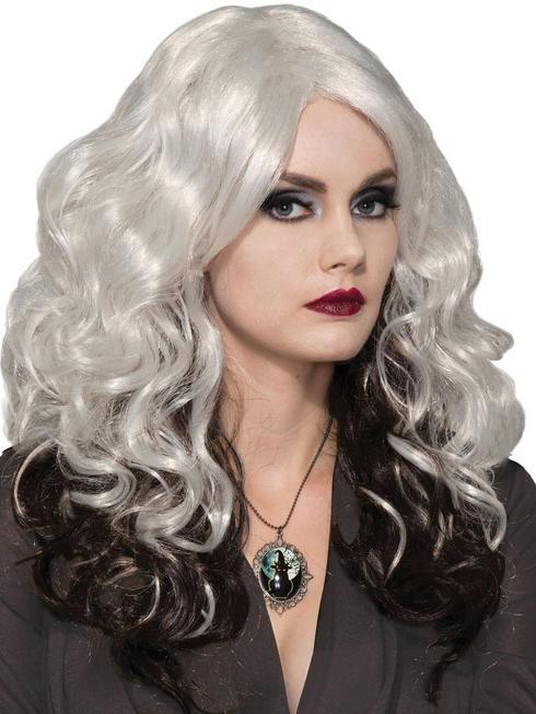 Ladies Silver Cast Wig
