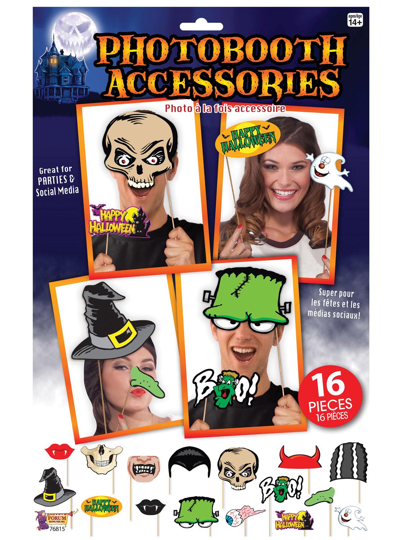 Halloween Photo Booth Set Halloween Party Social Media Fun Kit