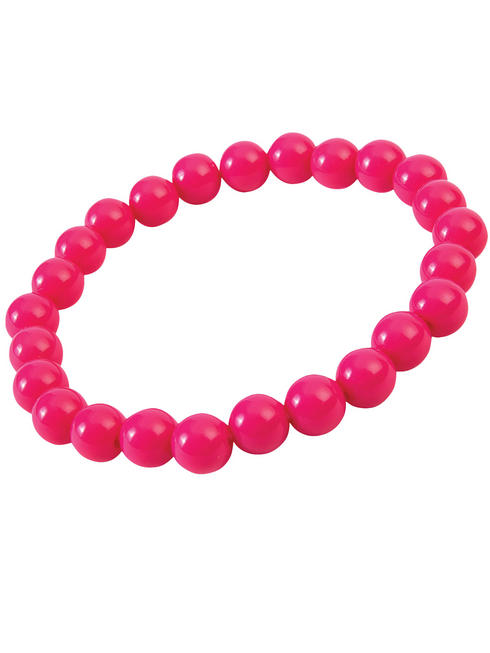 Pop Art Pink Pearl Bracelet