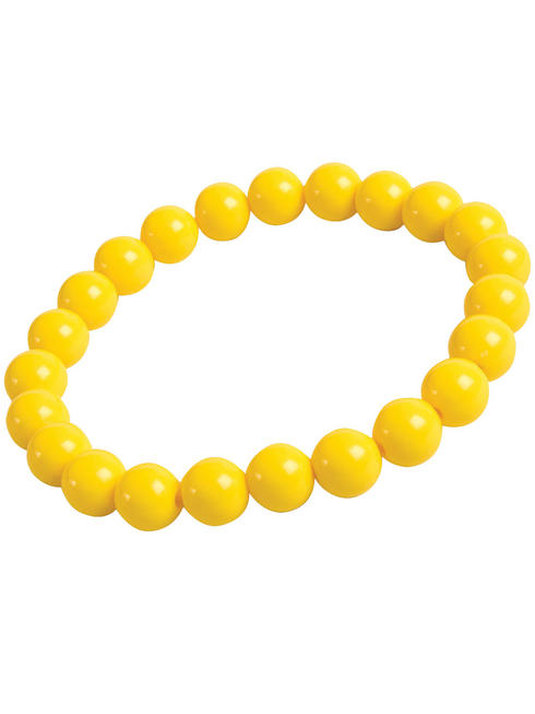 Pop Art Yellow Pearl Bracelet