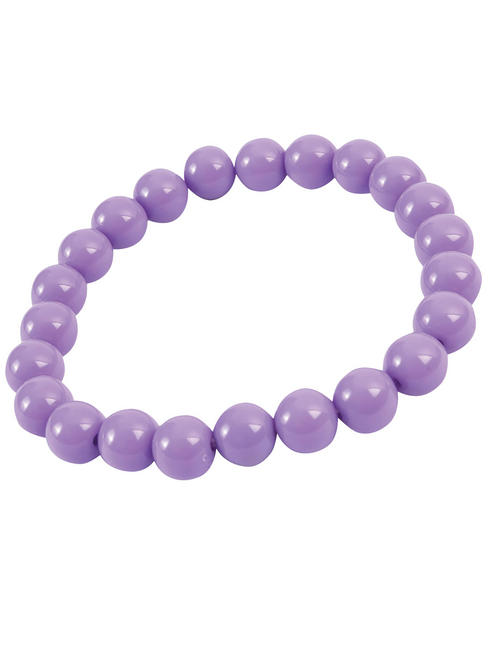 Pop Art Purple Pearl Bracelet