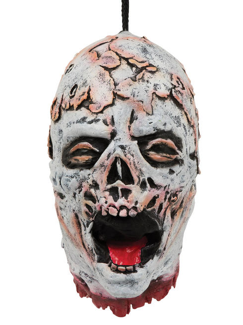 Melting Skeleton Hanging Head Prop