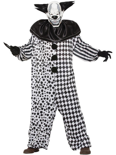 Men's Evil All the Clown Costume + Mask