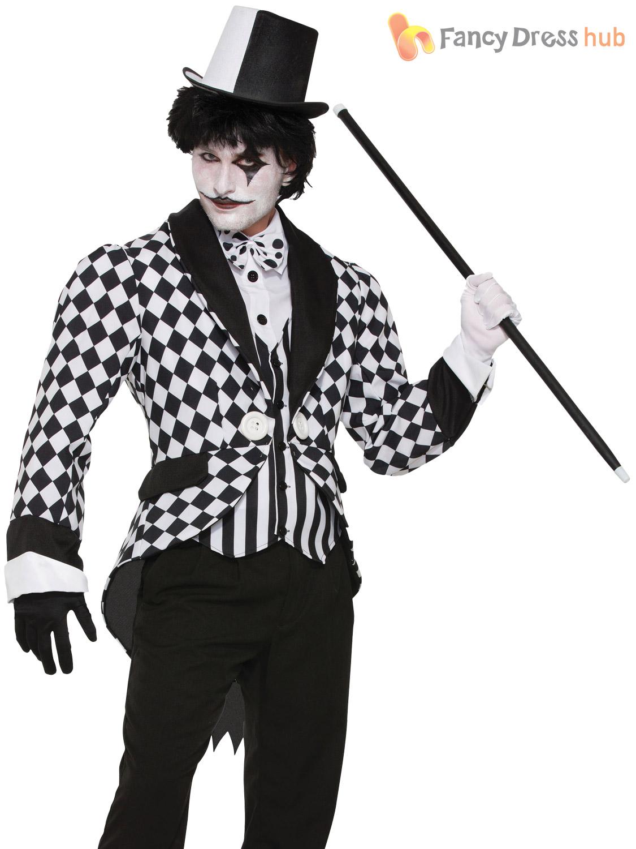 Black White Clown Shoes