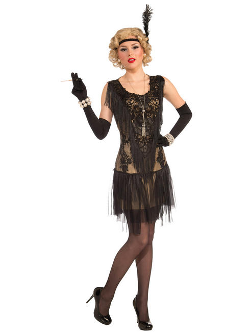 Lacey Lindy Deluxe Flapper Dress