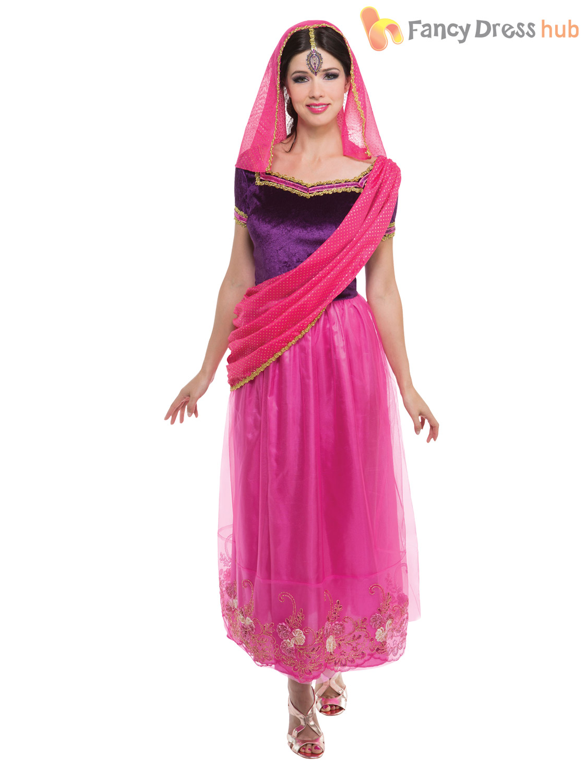 Adult Bollywood Costume Men Ladies Arabian Fancy Dress Woman Belly ...
