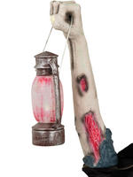 Zombie Arm With Light Up Lantern