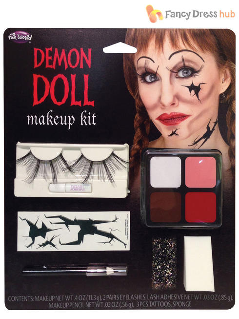 Demon Doll Makeup Kit