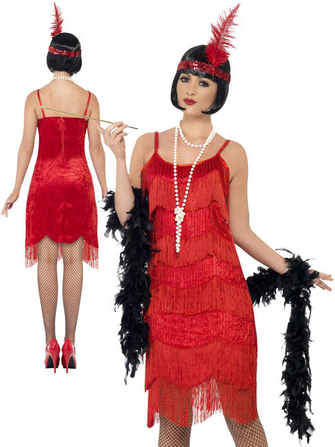 Ladies Shimmy Flapper Costume