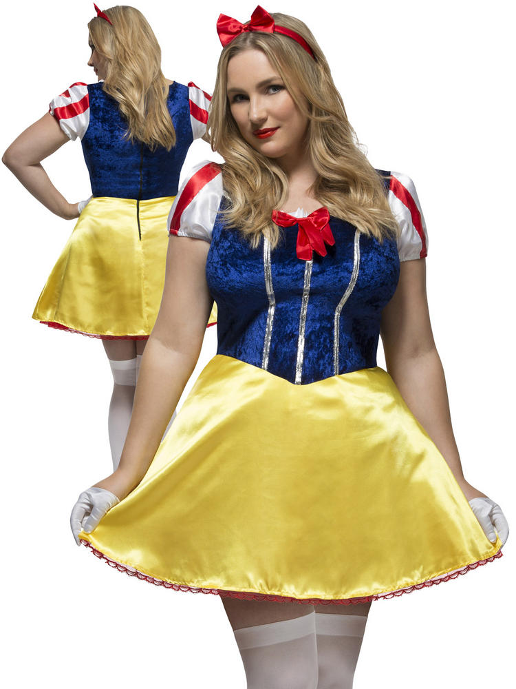 Ladies Fever Curves Fairytale Costume