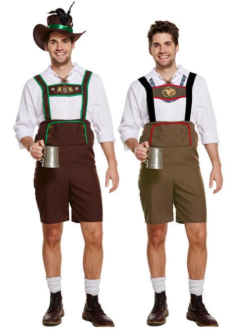 Men's Bavarian Man Costume