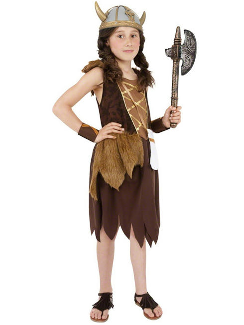 Girls Viking Costume