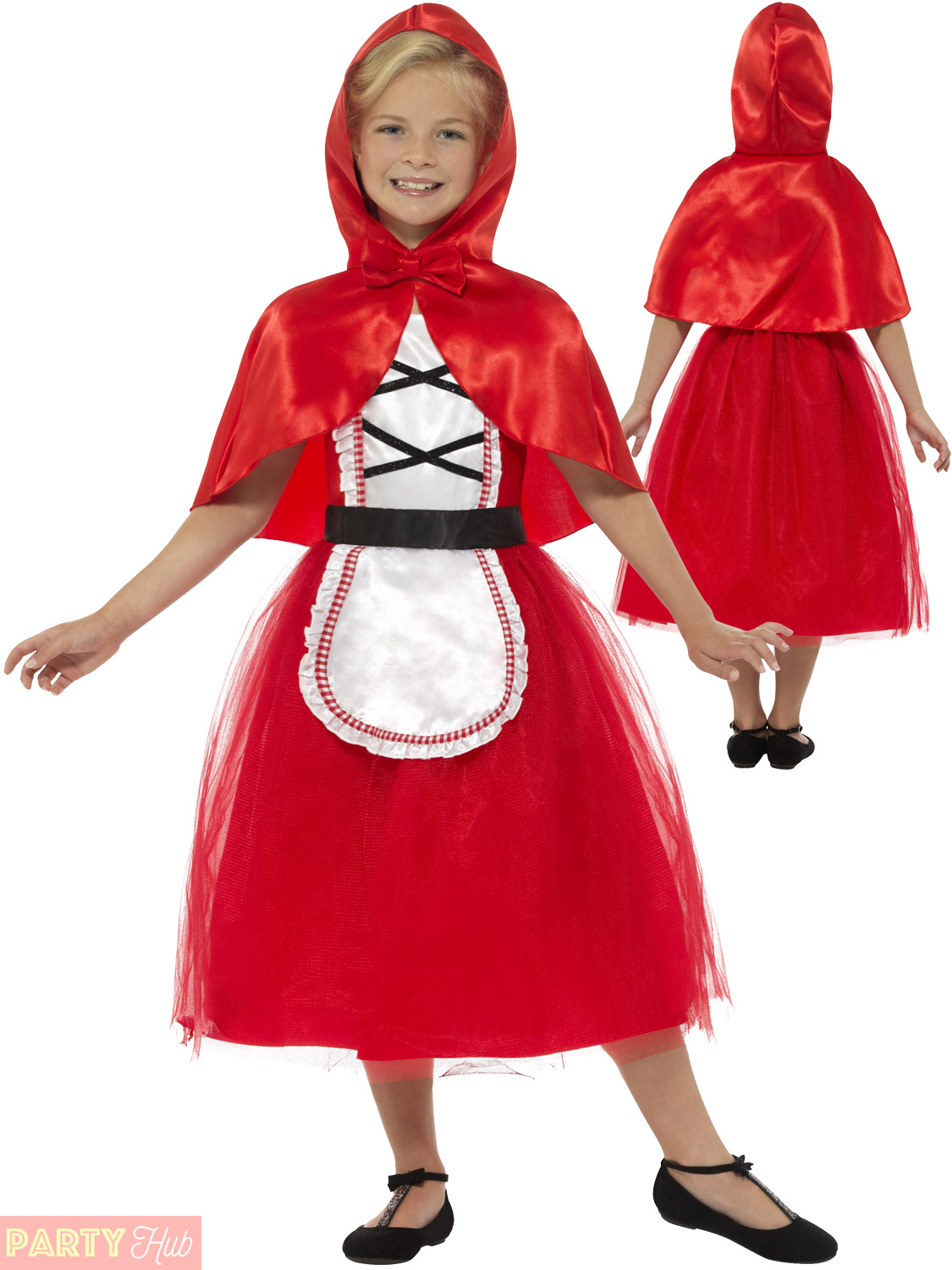 Girls Deluxe Little Red Riding Hood Costume World Book Day Week