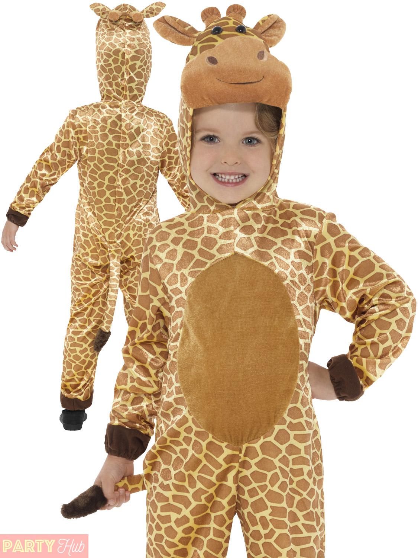 Kids giraffe costume outfit plush world book week day fancy dress kids giraffe costume outfit plush world book week solutioingenieria Images