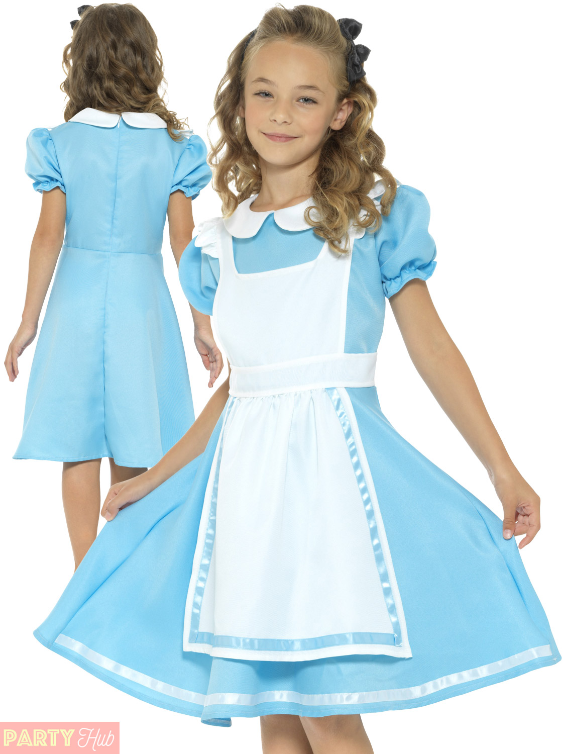 Girls Wonderland Princess Costume Book Week Alice Kids Storybook ...