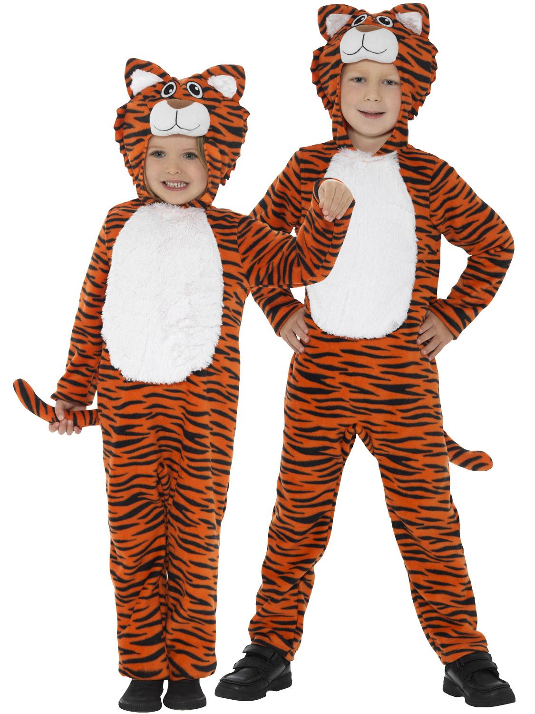 Boys Girls Zebra Stripe Animal Zoo Wild Book Week Fancy Dress Costume Outfit