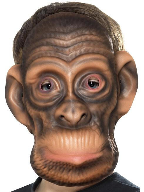 Child's Chimp Animal Mask